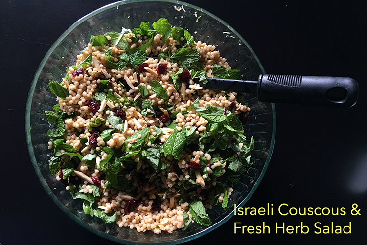 Recipe: Israeli Couscous and Fresh Herb Salad